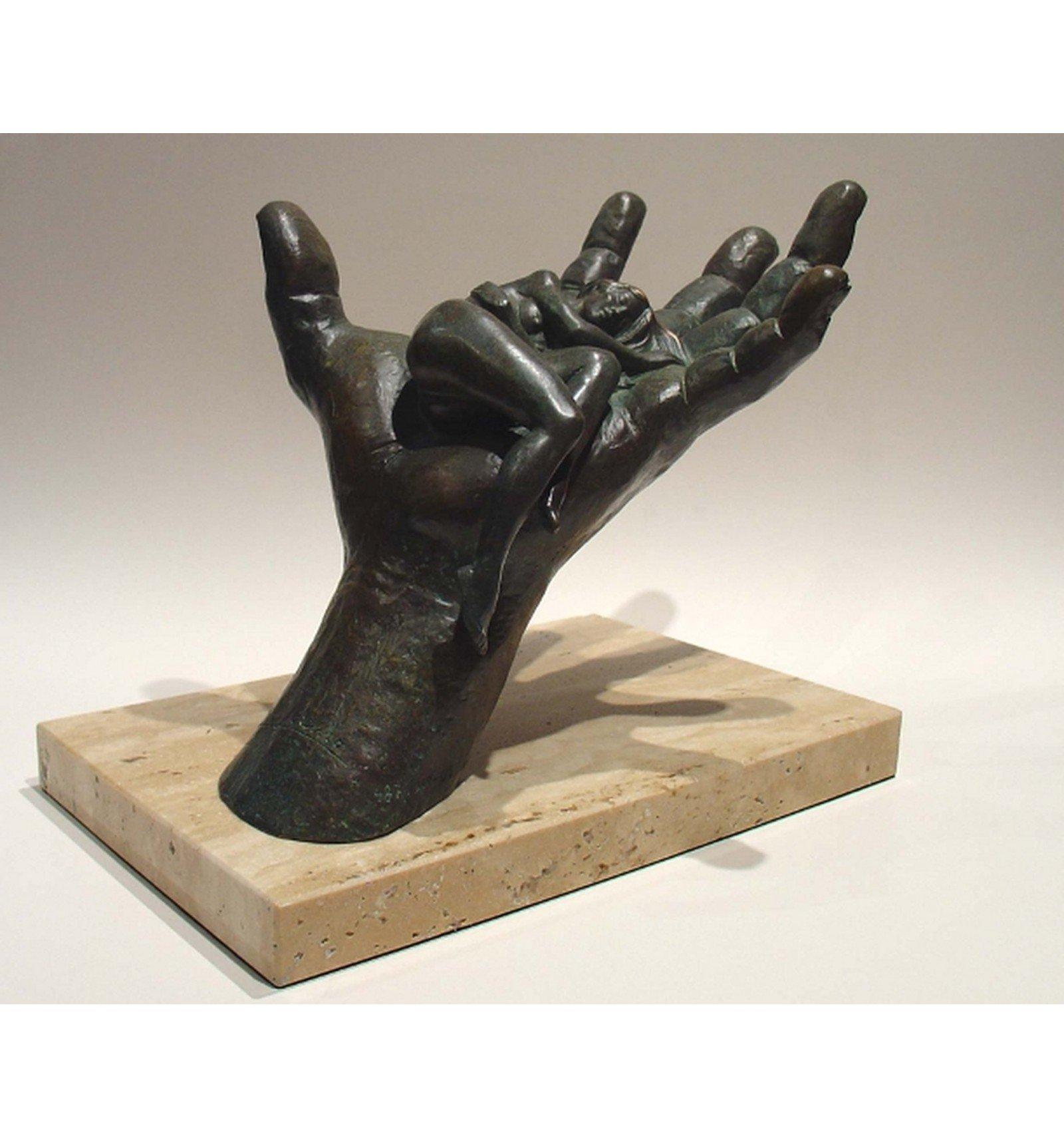 Sculpture trust hand sculptures art gallery bs