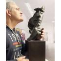 Calm and silence casting Bronze 65