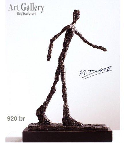Sculpture Man Walking