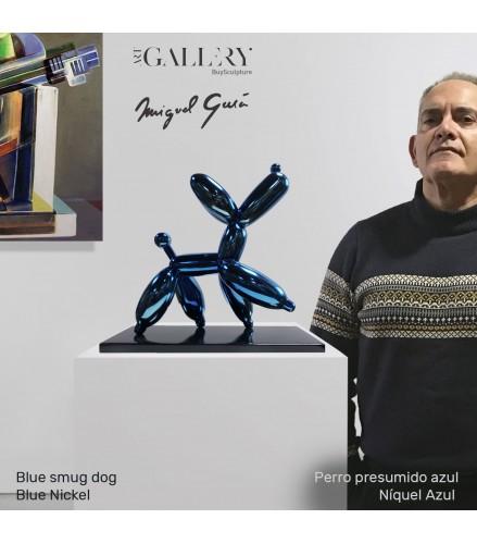 Blue smug dog