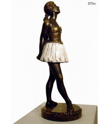 Sculpture young ballet dancer w