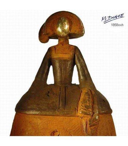 Sculpture big infant girl of velazquez II