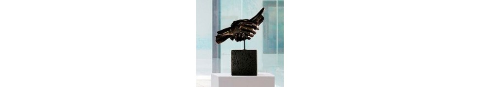 Buy sculpture in contemporary art gallery