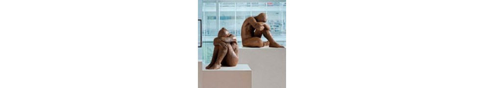 Buy impressionist sculpture in contemporary art gallery