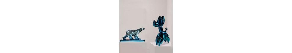 Buy animal sculptures in contemporary art gallery