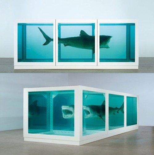 The Physical Impossibility of Death in the Mind of Someone Living | Damien Hirst