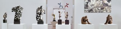 Buy figurative sculpture in contemporary art gallery