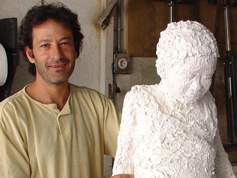 Impressionist sculptor who also plays with sculptural abstraction