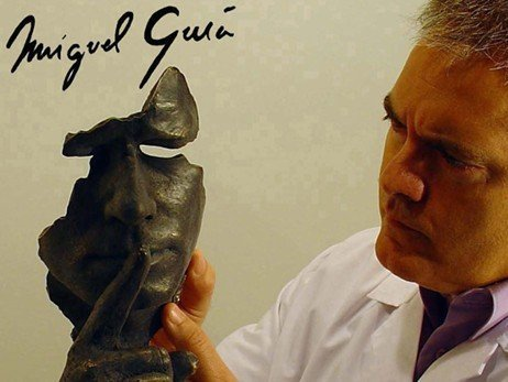 Sculptor Miguel Guía, admire his sculptures in bronze. Cubism, realism and abstract style Works