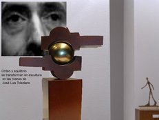 Artist from Alcalá de Henares, sculptor with a lot of craft and style, his abstract works fill spaces breaking the air