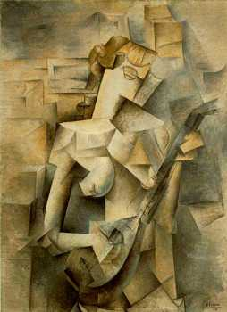 Cubist sculpture by George Braque - Analytical Cubism