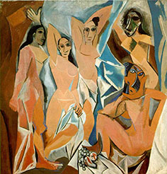Picasso - The Young Ladies of Avignon
