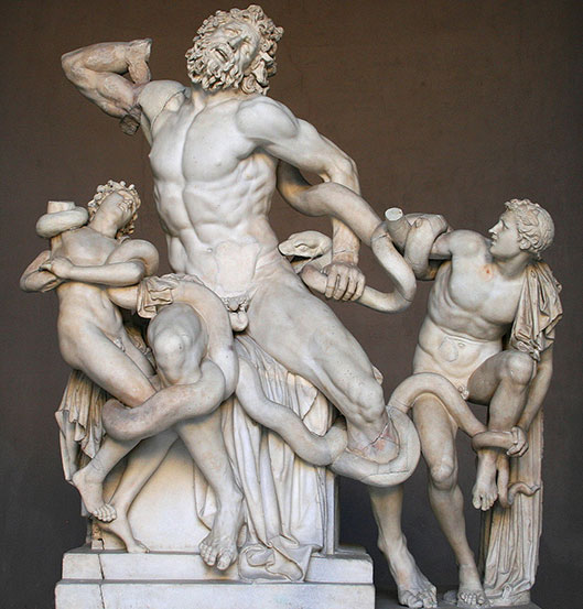 Statue Laocoön Group
