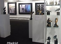 Exhibition of Art Galleries in Madrid, bronze sculptures in limited editions and with certificate of originality