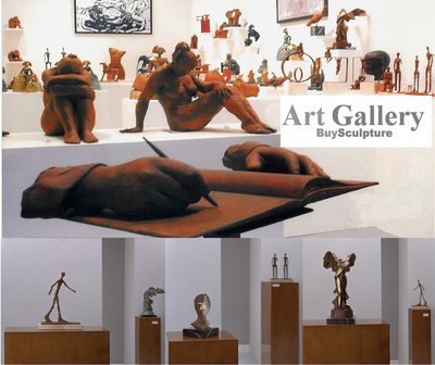Sculptures in our Art Gallery